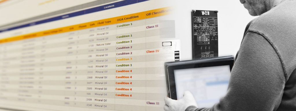 Dashboard Application for Transformer Diagnostics